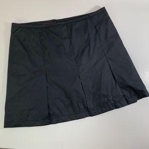 Puma Black and Pink Tennis Golf Skort Skirt